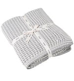 The Mesh Knitted Single-Size Throw Blanket