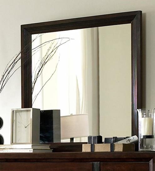 Plain Brown Mirror Frame