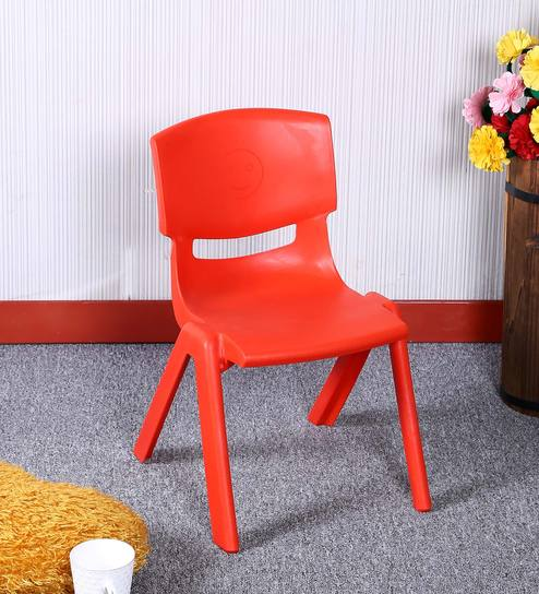 Buy Playgro Kids Plastic Chair In Red Colour By Parin Online Kids
