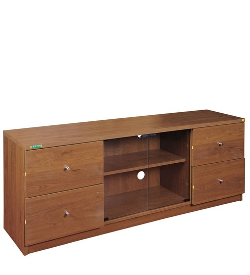 Buy Pluto Plasma Entertainment Unit with Natural Finish by Zuari ...