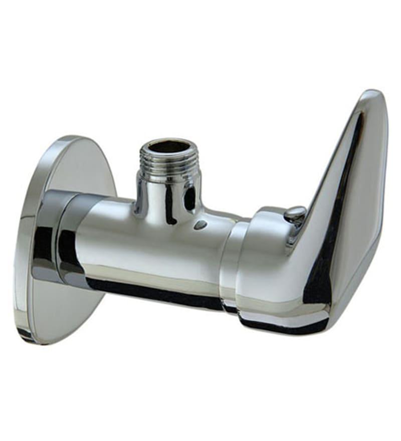 Plumber Alpha Chrome Brass Angle Cock