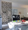 Planet Decor Wenge Acrylic with Wooden Lamination Straight Grained Room Divider