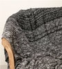 Bubbles Knitted Single-Size Throw Blanket by Pluchi