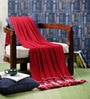 Christopher Cotton Single Throw Blanket by Pluchi