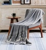 Forest Beauty Cotton Single Throw Blanket by Pluchi