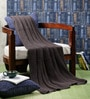 Knit & Purl Cotton Single Throw Blanket by Pluchi