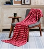 Ribbons Cotton Single Throw Blanket by Pluchi
