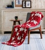 Starry Cotton Single Throw Blanket by Pluchi