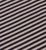 Grey Cotton Svelte Stripes Throw by Pluchi