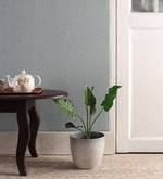 Green Polyester Monstera Artificial Plant without Wooden Pot