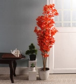 Orange Maple Artificial Plant