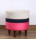 Pouffe in Multi-Colour