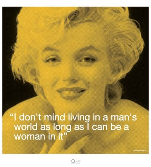 Poster Boy Marilyn Monroe (I Quote