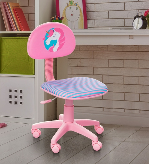 Pleasing Polo Study Chair In Pink By Alex Daisy Caraccident5 Cool Chair Designs And Ideas Caraccident5Info