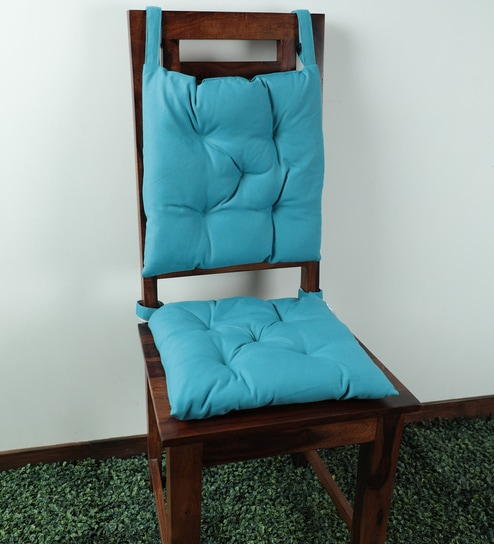 Polyester 16 X 16 Inches Chair Pads By Lushomes