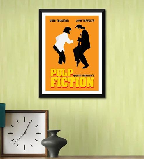 Buy Poster Paper 12 x 17 Inch Digital Art Pulp Fiction Framed Poster ...