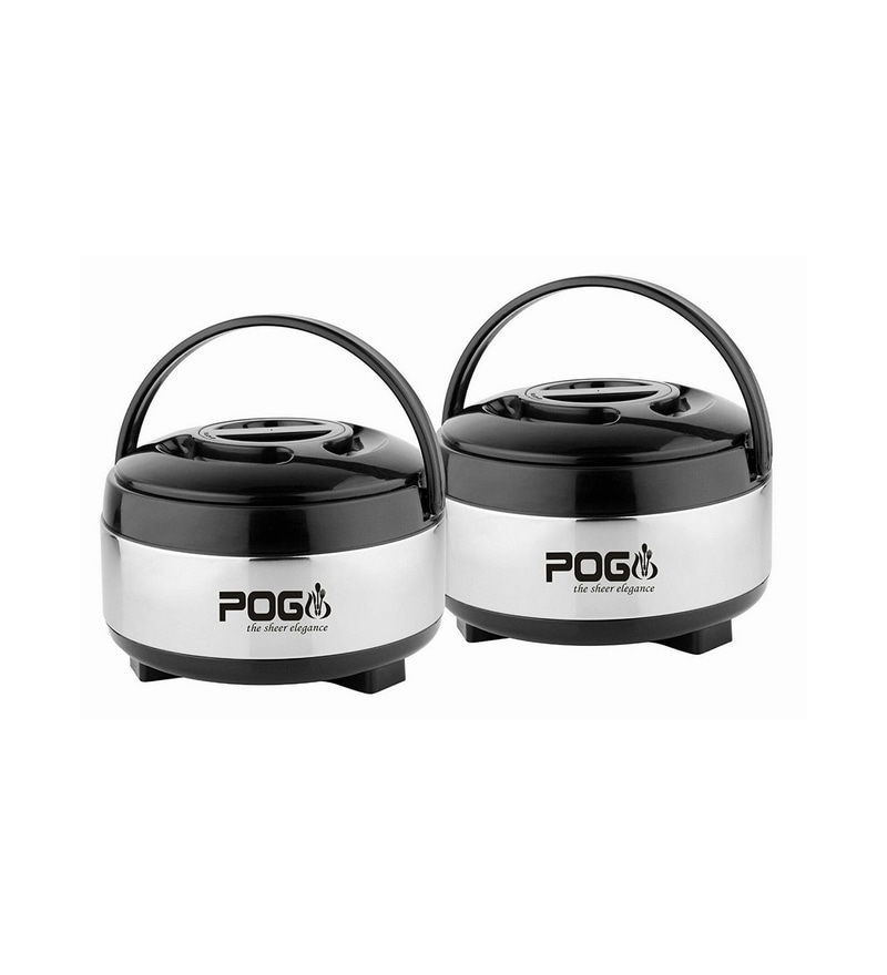 Pogo Appy Stainless Steel Casseroles Gift Pack - Set of 2