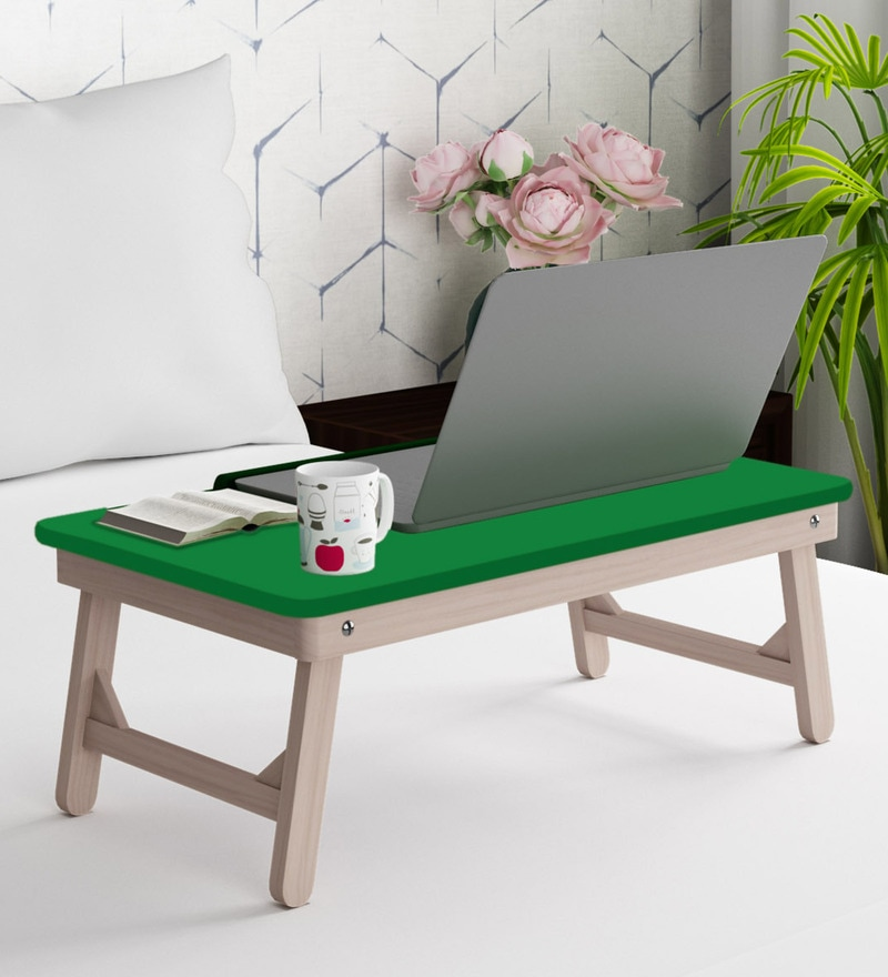 Astonishing Portable Table In Green Colour By Sattva Download Free Architecture Designs Lukepmadebymaigaardcom