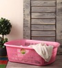 Polyset Plastic Pink Basket