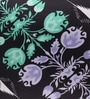 Portico Black Cotton 16 x 16 Inch Nishka Lulla Cushion Cover - Set of 2