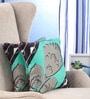 Multicolour Cotton 16 x 16 Inch Nishka Lulla Cushion Cover - Set of 2 by Portico New York