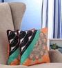Portico Multicolour Cotton 16 x 16 Inch Nishka Lulla Floral Cushion Cover - Set of 2