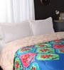 Portico New York Multicolour Nature & Florals Cotton Queen Size Comforter