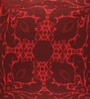 Portico Red Cotton 16 x 16 Inch Neeta Lulla Cushion Cover - Set of 2