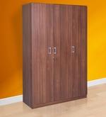 Premier Three Door Wardrobe in Regato Walnut Colour