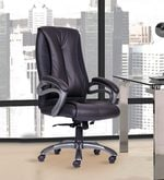 President High Back Chair in Black Colour