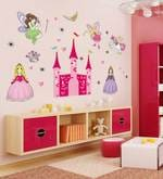 Angel Castle Princess Fairy Wall Stickers for Kids Room Wall Sticker