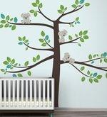 S Cute Koalas on a Tree Wall Sticker