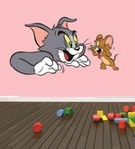 Print Mantrass Tom and Jerry Wall Sticker
