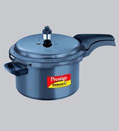 Prestige Deluxe Plus Hard Anodized Pressure Cooker ,5000 ML