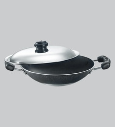 Prestige Omega Select Plus Non-Stick Appachatty With Lid 200 MM