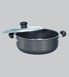 Prestige Omega Select Plus Residue Free Non-Stick Cooking Pot, 250 MM