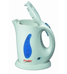 Prestige White & Blue 900 Watt Electric Kettle (Model_Pkpw 0.6)