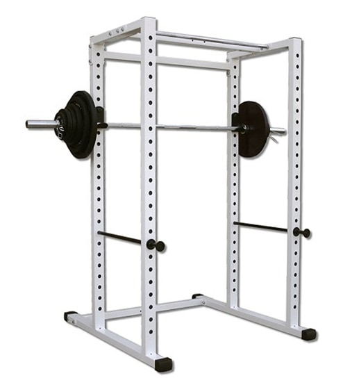 strength quick up racks equipment ic xfullshot pagespeed pull and rep squat stands sr rack view with bar