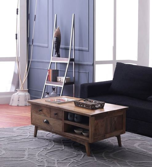 Prague Coffee Table In Natural Finish By The ArmChair