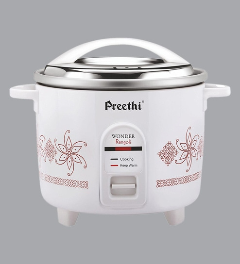 1e3b13b15 Buy 660 W Electric Aluminium Rice Cooker- 1.8 Ltr Online - Electric Cookers  - Cookers - Kitchenware - Pepperfry Product