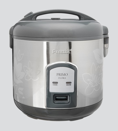 Buy 700 W Stainless Electric Rice Cooker 1.8 Ltr Online - Electric Cookers - Cookers - Kitchenware - Pepperfry Product