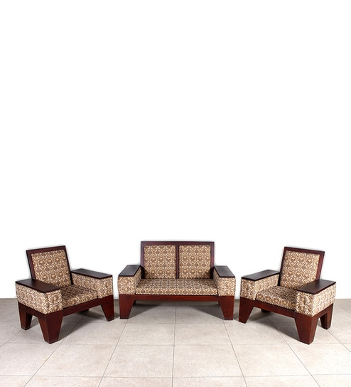 Prepossessing Sofa Set 1 Double Seater 2 Single Sofas