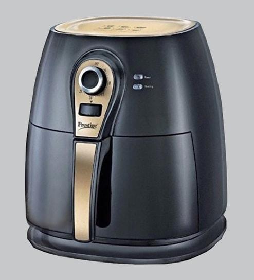 Prestige Paf 3 0 Gold 1400 Watt Air Fryer Black And Gold