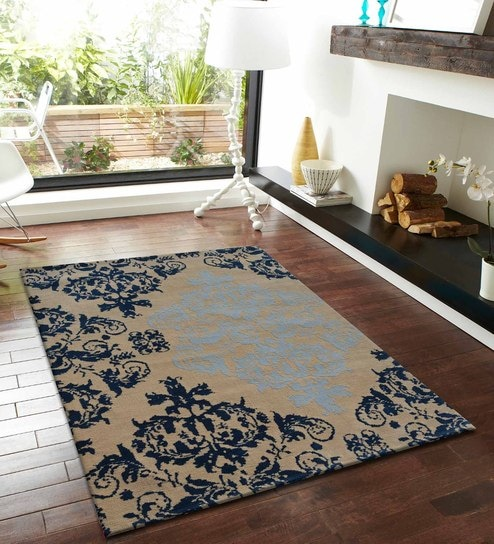 Tremendous Abstract Pattern Polyester 5 X 2 Feet Machine Made Carpet By Presto Complete Home Design Collection Barbaintelli Responsecom