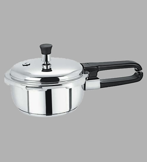 c71c8bda9 Buy Induction Base Stainless-Steel Pressure Cooker - 1.5 Ltr Online - Pressure  Cookers - Cookers - Kitchenware - Pepperfry Product