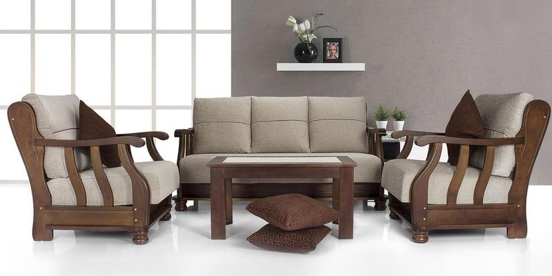 Buy Prestige Sofa Set 3 1 1 Seater In Steel Grey