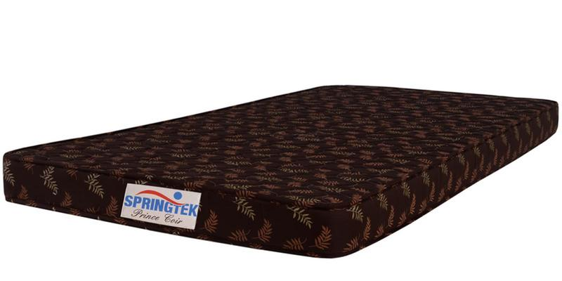 Prince Single Size (72x36) 4 Inches Thick Coir Mattres by Springtek Ortho Coir