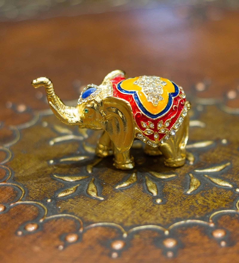 Buy Prachin Art and Crafts Multicolor Wood and Metal