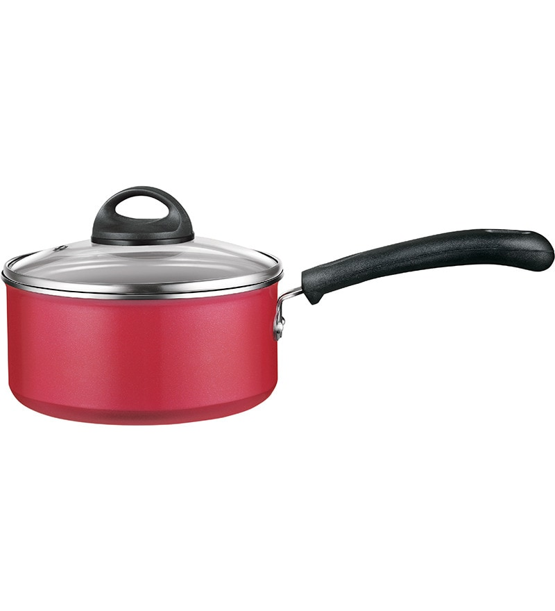 Aluminium 7 Inch Classic Saucepan with Lid by Premier