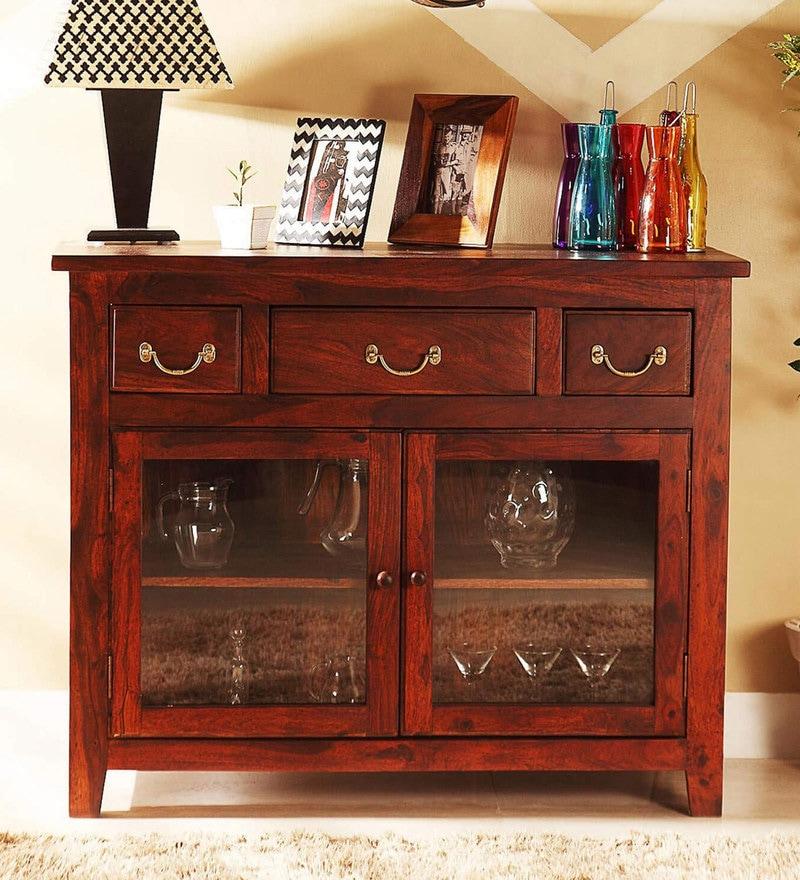 Prescott Sideboard in Honey Oak Finish by Woodsworth